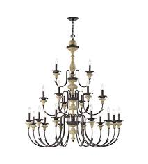 elk 32222 12 6 3 channery point 21 light 46 inch oil rubbed bronze aged cream chandelier ceiling light