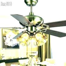 caged crystal ceiling fan chandelier fan light kit pull chain crystal bead candelabra ceiling