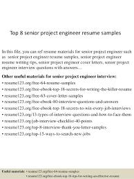 Senior Project Resumes Under Fontanacountryinn Com