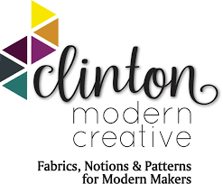 Please welcome our newest blog sponsor Clinton Modern Creative ... & Clinton Modern Creative is a Canadian based online shop featuring designer  woven fabrics, notions and patterns for today's Modern Makers. Adamdwight.com