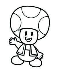 Disegni Da Colorare Di Mario Bros 2 Personaggi Super Mario Bros