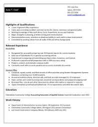 Sample Resume For Recent College Graduate With No Experience New
