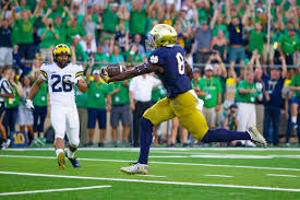 2012 Notre Dame Football Depth Chart College Football Week 9 Fox Cbs Abc Espn And Others