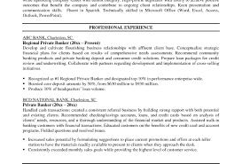 Objective For Banking Resume Teller Investment Vozmitut