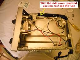 things you can repair delonghi eo1238 toaster oven repair the toaster oven on its side the thermal fuse is located near the top of the toaster oven in a protective plastic tube and connected to a black wire