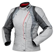 Dririder Ladies Vivid 2 Jacket Ash Grey