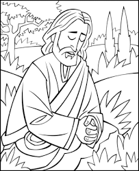 Free easter coloring pages and easter printables for your kids. Sunday School Coloring Page Jesus Praying In The Garden