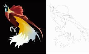 Gambar hitam dan putih binatang menyusui satu warna. Cara Cepat Membuat Lukisan Burung Cendrawasih Di Coreldraw Dengan Mudah Dan Cepat Resep Kuini