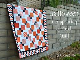 Halloween Disappearing 9-Patch Quilt &  Adamdwight.com