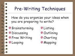 Prewriting Techniques The Prewriting Process Paper Available My Best Writer