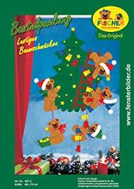 Fischer Fensterbild Besuch Vom Weihnachtsmann