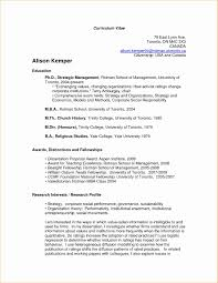 Academic Resume Sample Best Academic Resume Template Resume Format Samples Sample Academic 6