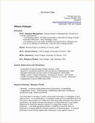 Academic Resume Format Best Academic Resume Template Resume Format Samples Sample Academic 3