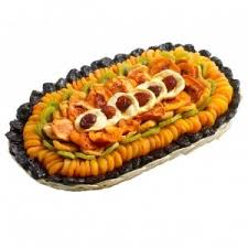 executive collection dried fruit gift tray