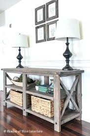 diy sofa table ana white. Diy Sofa Table Home Depot Great Gray Console With Best  Rustic Tables . Ana White A