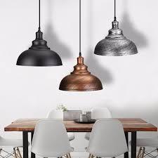 vintage e27 ceiling light pendant retro lamp industrial loft iron chandelier