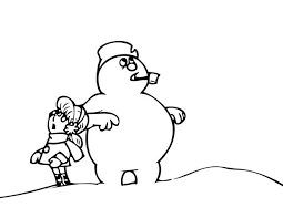 Small Picture Free Printable Frosty the Snowman Coloring Pages Best Coloring