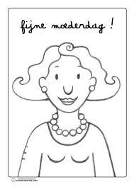 Kleurplaat Mama Jules Thema Moederdag Mothers Day Theme Mom