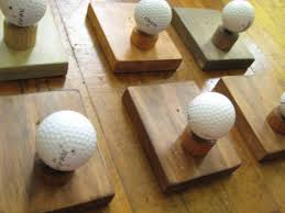 Ball Coat Rack Single Golf Ball Coat Rack DIY project Could use for beach 85