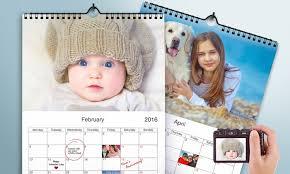 Custom Photo Calender Up To 88 Off On Custom Photo Calendars Groupon Goods