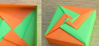 how to make an origami square box (lid) (tomoko fuse) origami tomoko fuse box pdf how to make an origami square box (lid) (tomoko fuse) origami wonderhowto