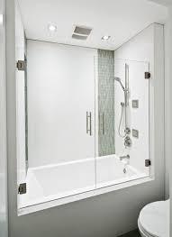 Image result for modern built in bathtub shower combo