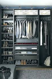 drawers built closet cabinets for bedroom ideas of modern house awesome best goals images pre built in linen closets