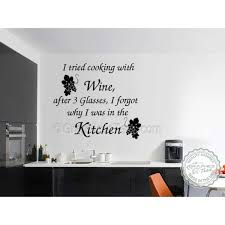 kitchen wall art stickers nmediacom