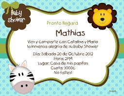 Tarjetas De Baby Shower Para Nio Baby Showers Ideas