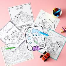 Small Picture Coloring Pages Nickelodeon Parents