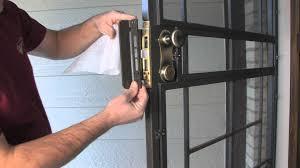 metal security screen doors. Lock Guard Armor™ Security Door Enhancement - By Secure-All Doors YouTube Metal Screen O
