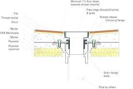 shower floor drain installation concrete how to install a shower drain how to install a shower