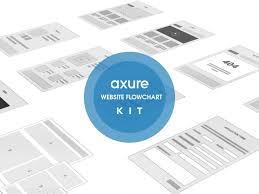 Website Flowchart Template Website Flowchart Widgets For Axure 688521000057 Flow Chart Free