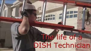 the life of a dish technician youtube dish network installers