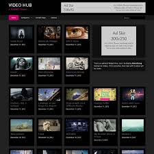 Website Templates Wordpress Awesome 48 Best WordPress Responsive Themes For Videos CreativeCrunk