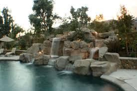 Pool Designs With Rock Slides Rock Pool Designs Yorba Linda Custom Features Irvine