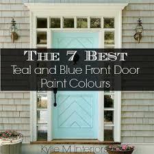 best paint for front doorBest 25 Front door colours ideas on Pinterest  Blue doors Front