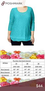 Jm Collection Crocheted Embellished Tunic Top Update Your