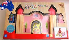 kenmore kitchen playset. new 28 piece my first wooden castle play set wood toys building age 3+ kenmore kitchen playset d