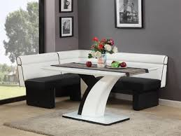 black dining room set round. Architecture: Contemporary Round Dining Room Sets Small Breakfast Table Regarding Modern Decorating Black Set C