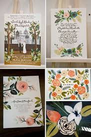 best 25 illustrated wedding invitations ideas on pinterest Handmade Wedding Invitations With Flowers wedding invitations by rifle paper co Unique Butterfly Wedding Invitations