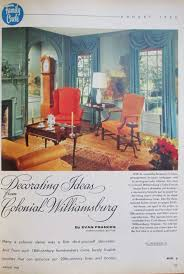 Colonial Decorating The Literate Quilter Decorating Ideas From Colonial Williamsburg