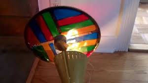 Vintage Spartus Rotating Color Wheel For Aluminum Christmas Tree