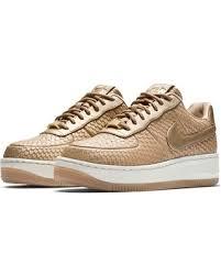 womens nike air force 1 white. Women\u0027s Nike Air Force 1 Upstep Premium Platform Sneaker, Size 7.5 M - Pink Womens White .