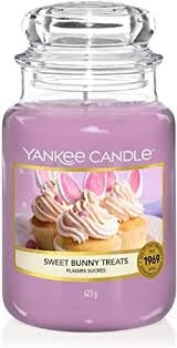 Yankee Candle Large Jar Candle | <b>Sweet Bunny</b> Treats Scented ...