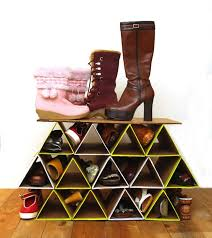 plus it fits inside our closet perfectly diy shoe organizer apieceofrainbow 14