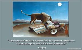 Carl Jung Quotes On Dreams Best of Carl Jung A Great Work Of Art Is Like A Dream Jung Currents