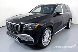 The maybach gls is the luxury marque's first entry into the crossover segment. Used 2021 Mercedes Benz Gls Mercedes Maybach Gls 600 4matic For Sale 249 996 Mclaren Charlotte Stock 394090