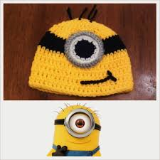Minion Hat Crochet Pattern Best Butterfly's Creations Minion Beanies