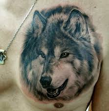 тату волка для мужчин фото